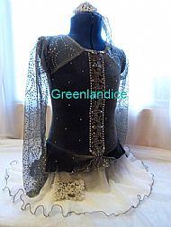 Lexie E design dress in Grey/White