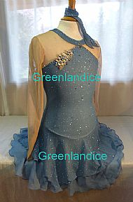 Lexie Laura design in glitter blue