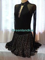 Lexie/Lisa design in Black/Champagne
