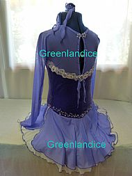 Lisa design in Lavender Back View
