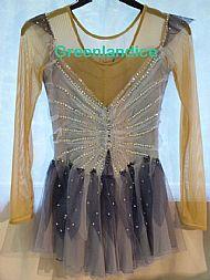 Moonlight Fairy Ice Skating Dress