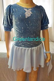 Rebecca Blue Celtic dress