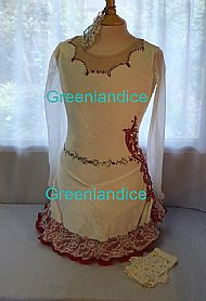 Rebecca Tia design Spanish dress