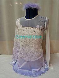 Victoria design white/lilac