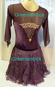 Sophie Design in Aubergine Back View