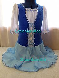 Sarah Celtic ice skating dress