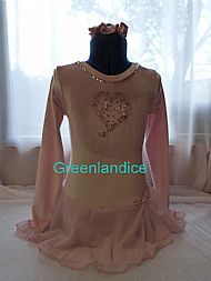 Sarah Ice Princess dress in Pink