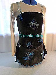 Sophie Design in Black/Turquoise