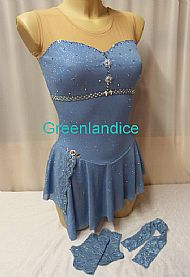 Sophie E design in Glitter Blue