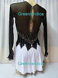 Sophie Lisa design Black Stripe/White Back View