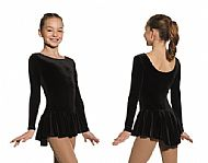 Black Velvet Test Dress