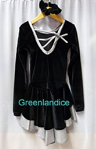 Black/Silver Julie design dress