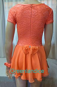 Jane design in Orange Back View
