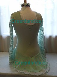 Lettie design in Mint Back View