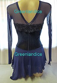 Lexie design dark blue Back View