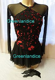 Lexie design in Black/Red