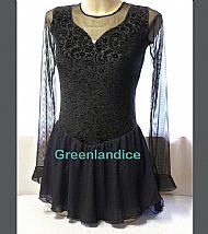 Rebecca Design in Black/Lavender