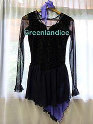 Rebecca Design in Black/Lavender Crystal Pack