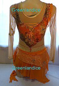 Yasmin design in Orange Back View