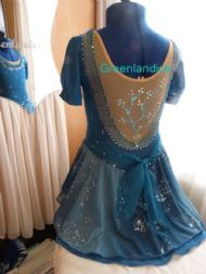Rebecca design in Jade Back View