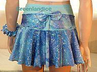 Ocean Sparkle Skirt Back View