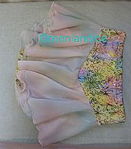 Pastel Flowers Skirt