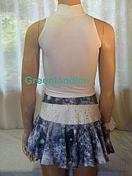 Frozen Skirt & Top Back View