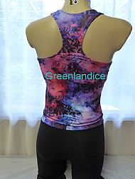 Aurora Racer Back Top and Leggings back view