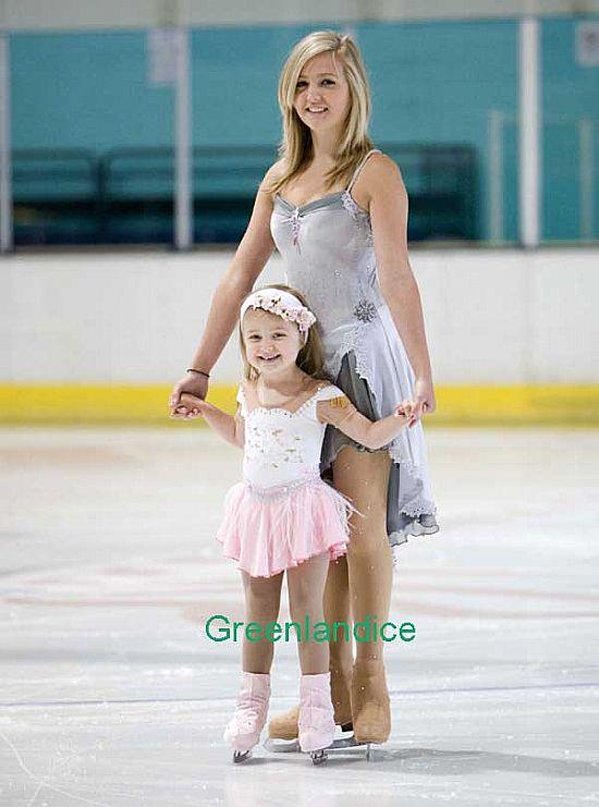 Figure skating pantyhose
