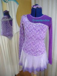 Purple Victoria Design Dress