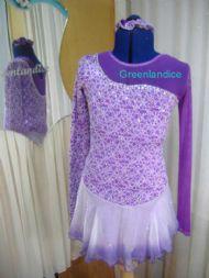 Purple Victoria Design Dress