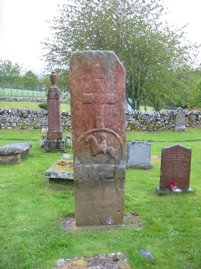 east face edderton cross slab
