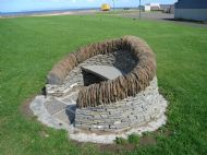 Community Arts Seat 2007. Thurso beach.