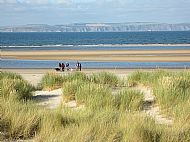 Nairn Beach, only a few miles away
