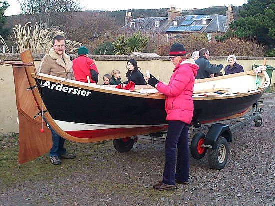 adersier boat club skiff esther