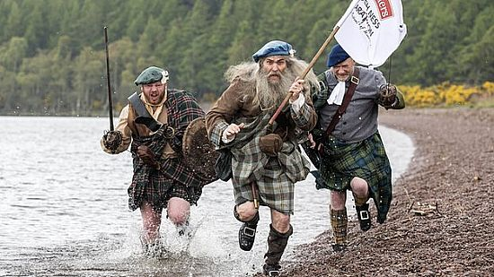 race to see who is the fastest scottish clan