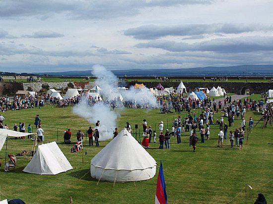 celebration of the centuries at fort george in ardersier
