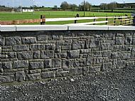 Black Limestone random walling