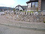 Cairngorm Scottish Pink dyking granite