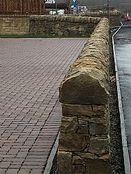 Mountcharles mixed colour sandstone