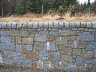 Guillotined granite