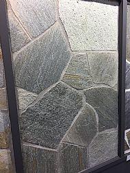 Grey whinstone quartz crazy paving