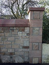 Reclaimed mixed sandstone