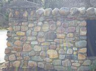 Scottish Glacial boulders  split