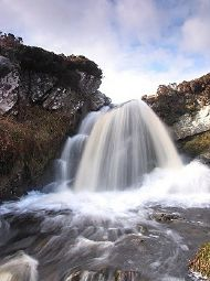 waterfall on lewis