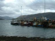 Ullapool harbourside