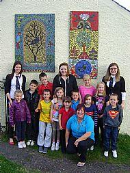 Mosaic Trail - the Celtic Tree Alphabet