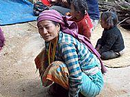 A village lady