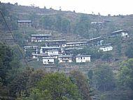 The village of Salle, Nepal.