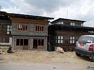 New houses,  Bhutan